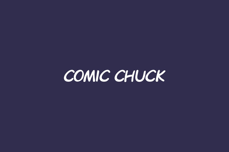 Comic Chuck Free Font