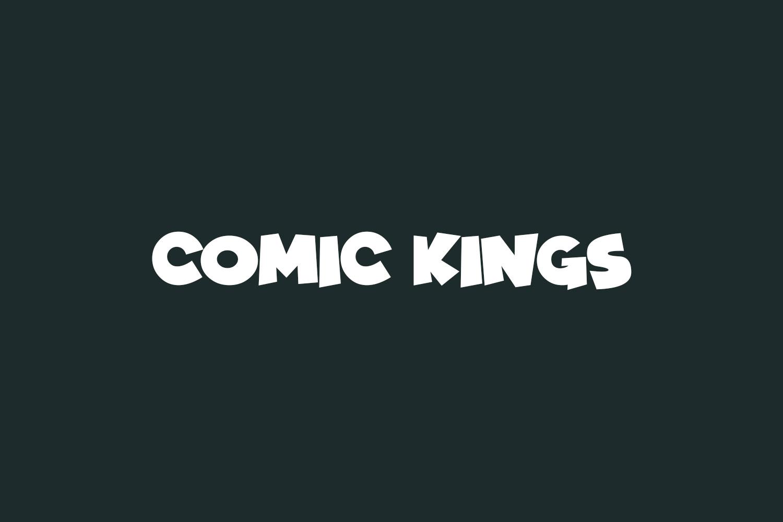Comic Kings Free Font