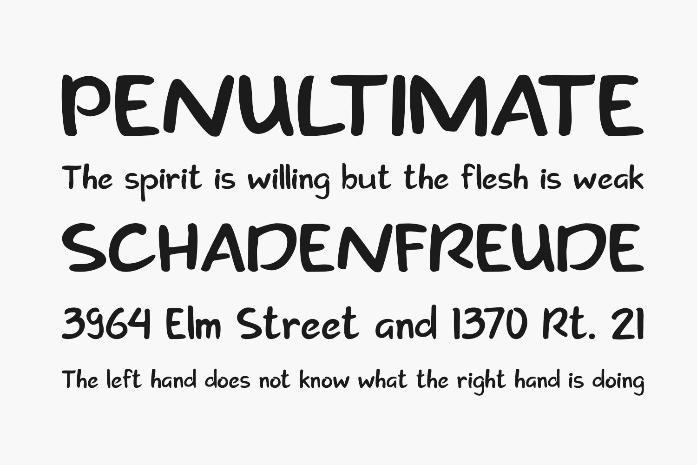 Creation Free Font