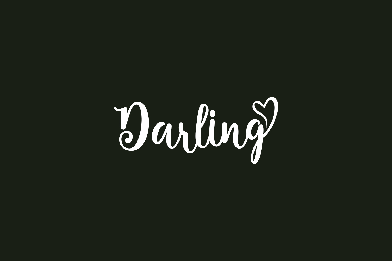 Darling Free Font