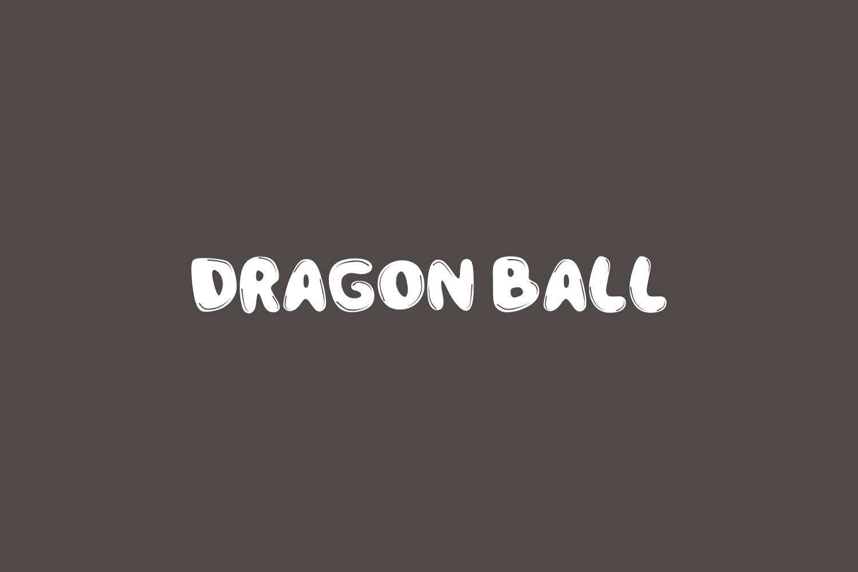 Dragon Ball Free Font