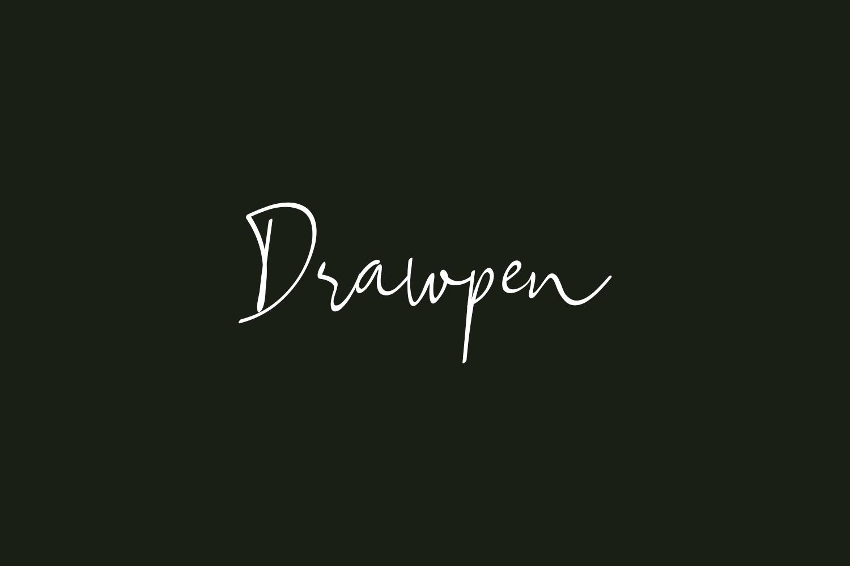Drawpen Free Font
