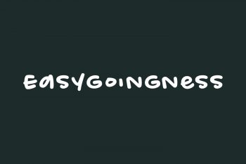 Easygoingness Free Font