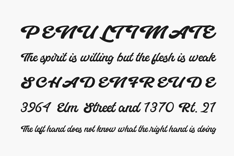 Eunila Script Free Font
