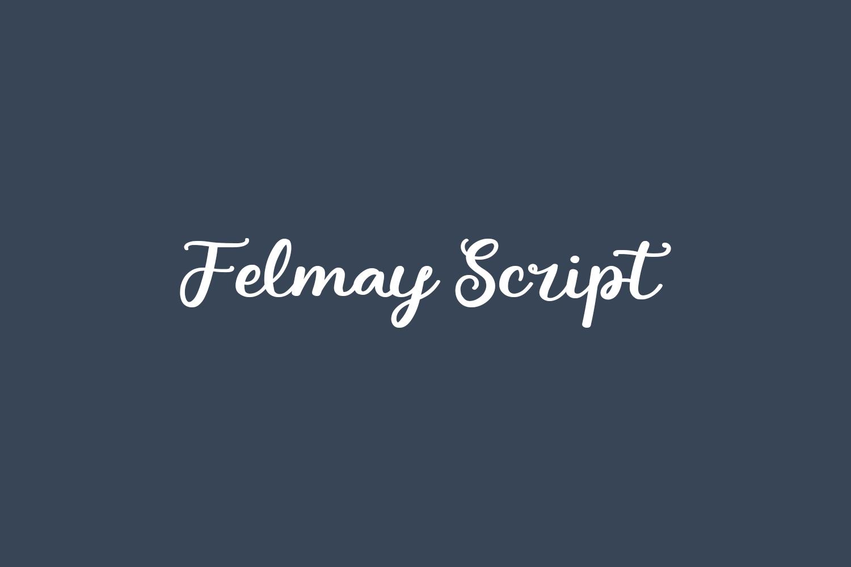 Felmay Script Free Font