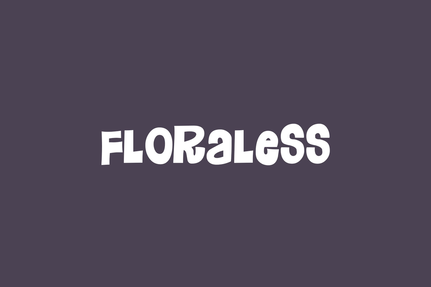 Floraless Free Font