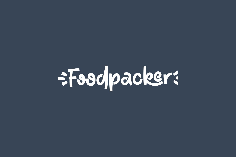 Foodpacker Free Font