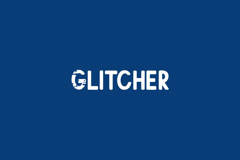 Glitcher Free Font