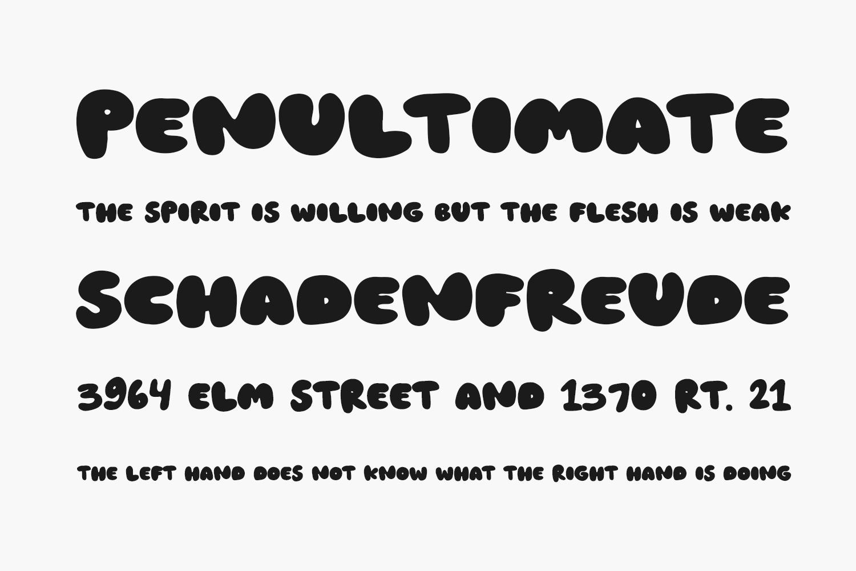 Greensea Free Font