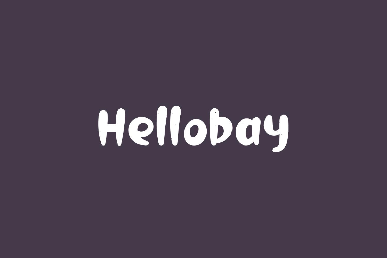 Hellobay Free Font