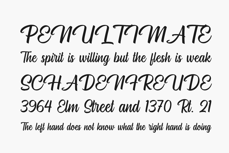 Hugheid Free Font