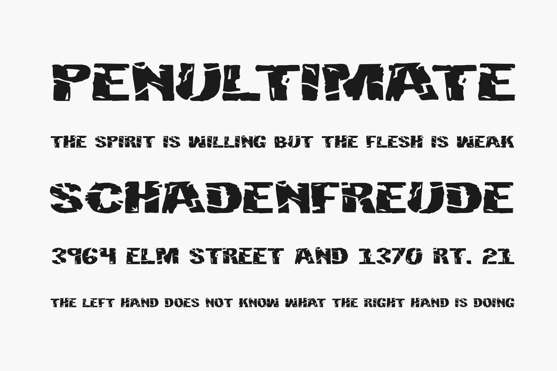 Hulkbusters Free Font