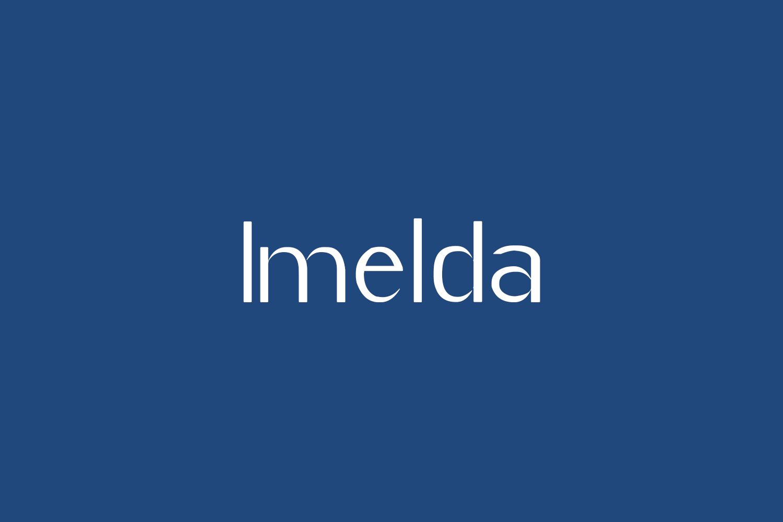 Imelda Free Font