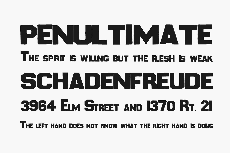 Karopapier Free Font