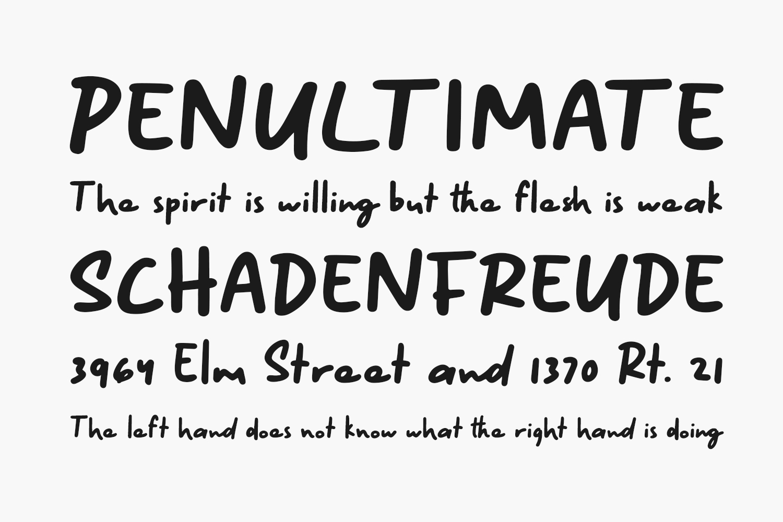 Kinethick Free Font