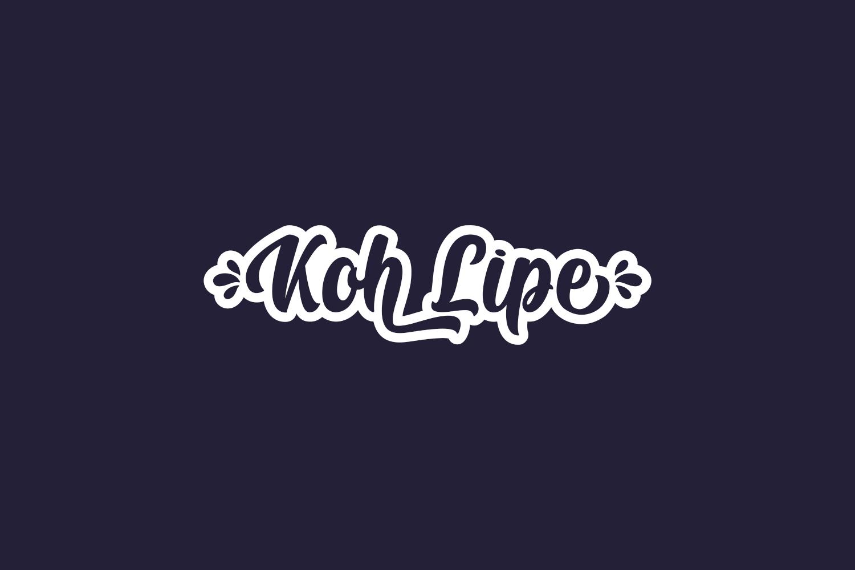 Koh Lipe Free Font