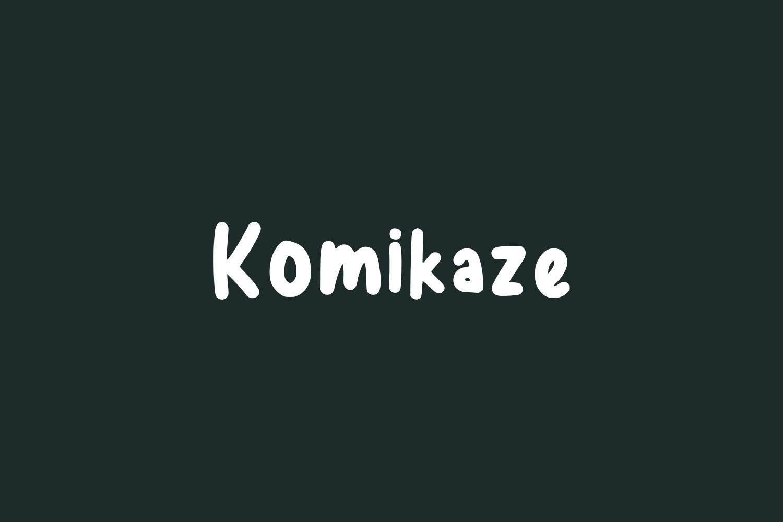 Komikaze Free Font