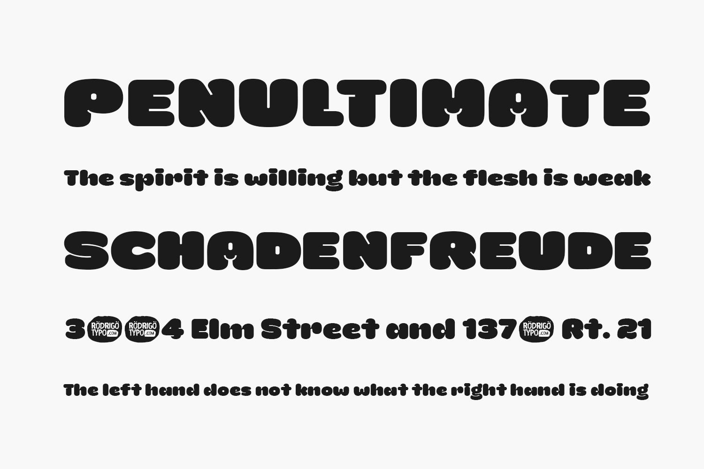 La Mona Free Font