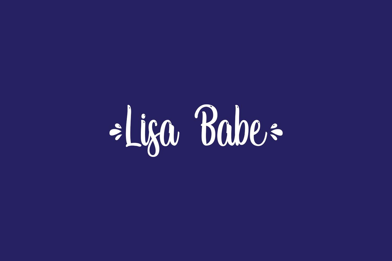Lisa Babe Free Font