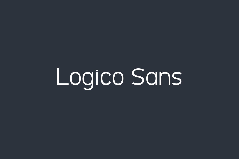 Logico Sans Free Font