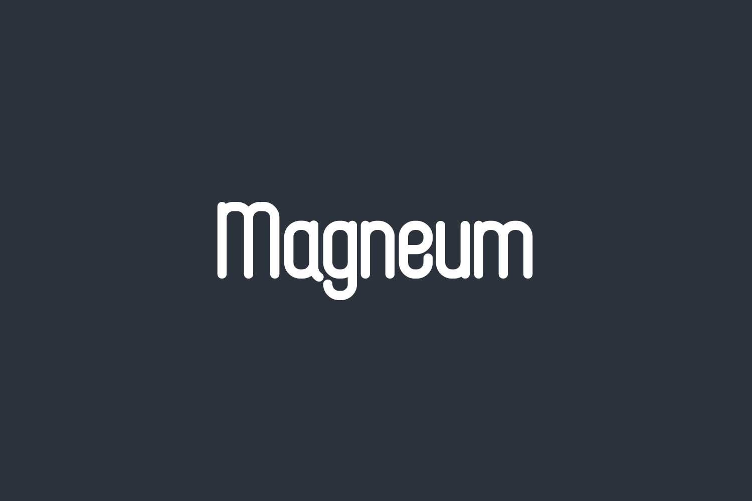 Magneum Free Font