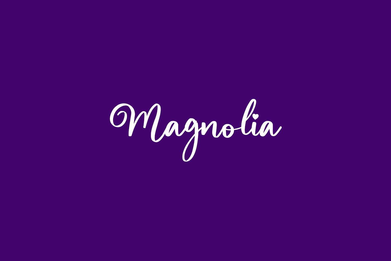 Magnolia Free Font