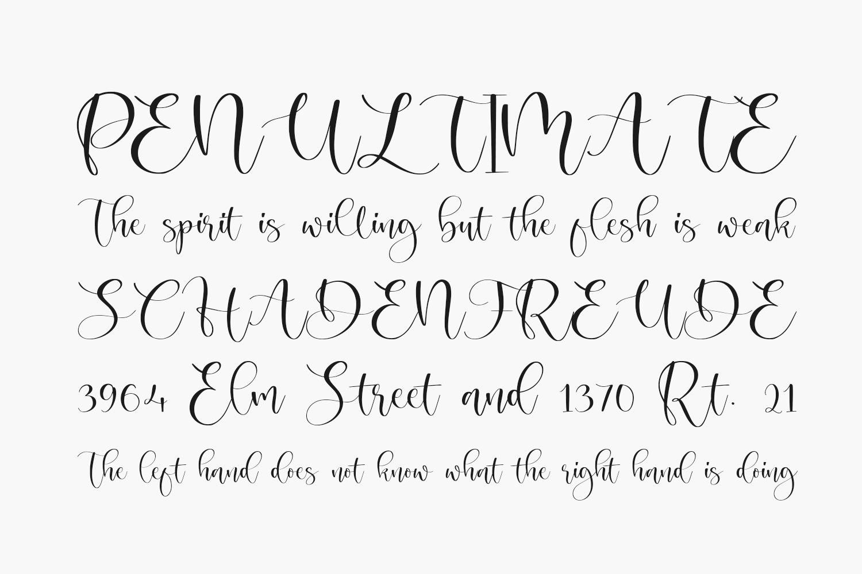 Magnolin Free Font