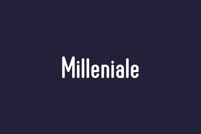 Milleniale Free Font