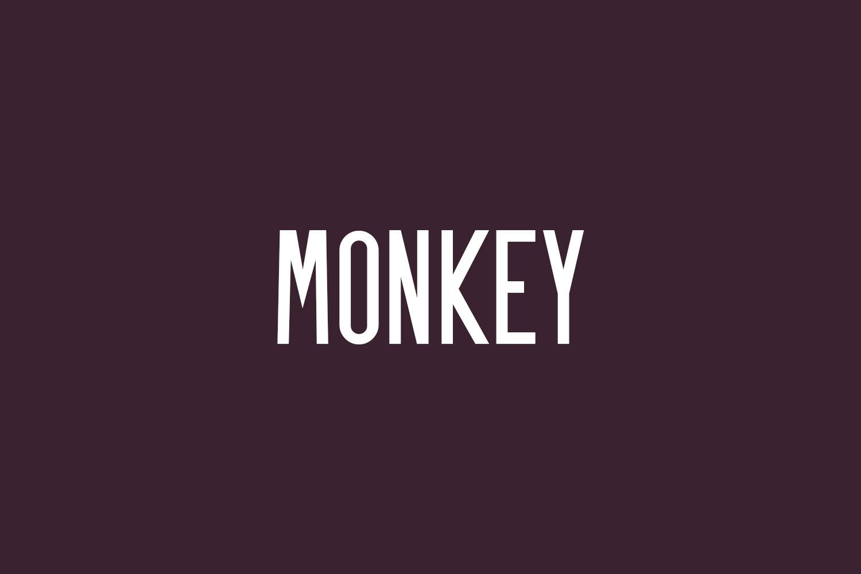 Monkey Free Font