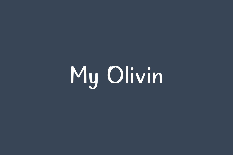 My Olivin Free Font