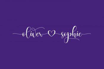 Oliver Sophie Free Font