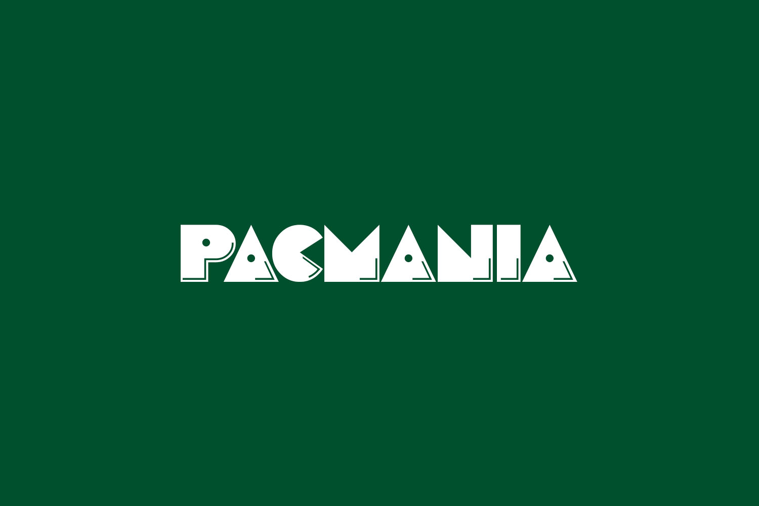 Pacmania Free Font