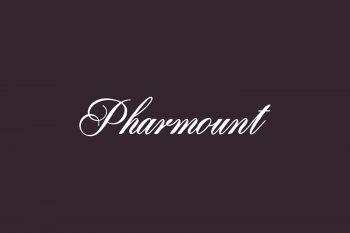 Pharmount Free Font