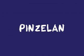 Pinzelan Free Font