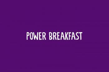 Power Breakfast Free Font