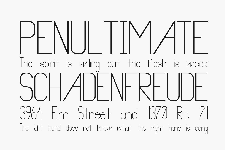 Primadona Free Font