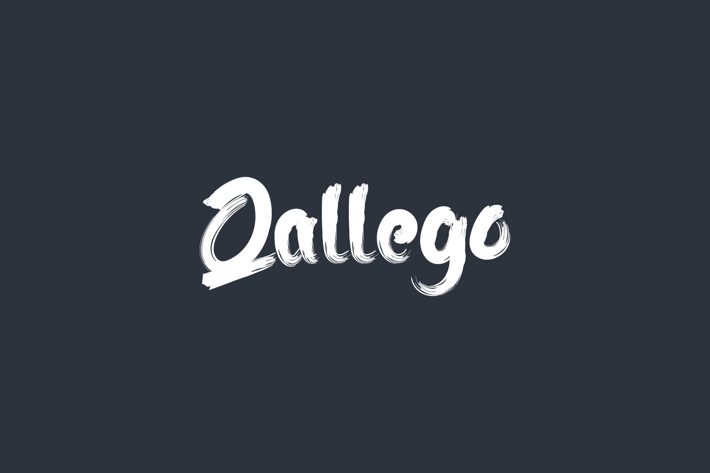 Qallego Free Font