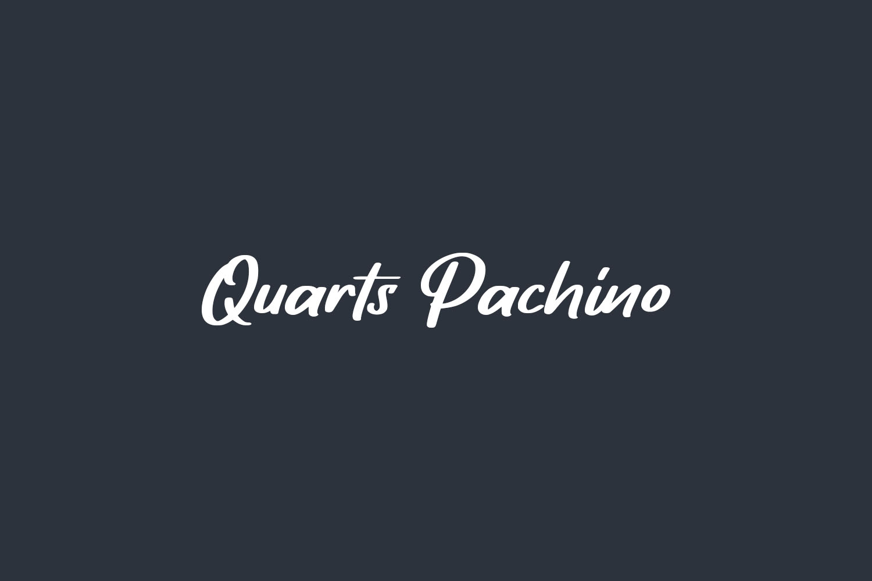 Quarts Pachino Free Font