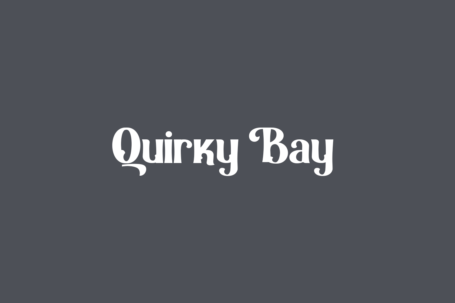 Quirky Bay Free Font