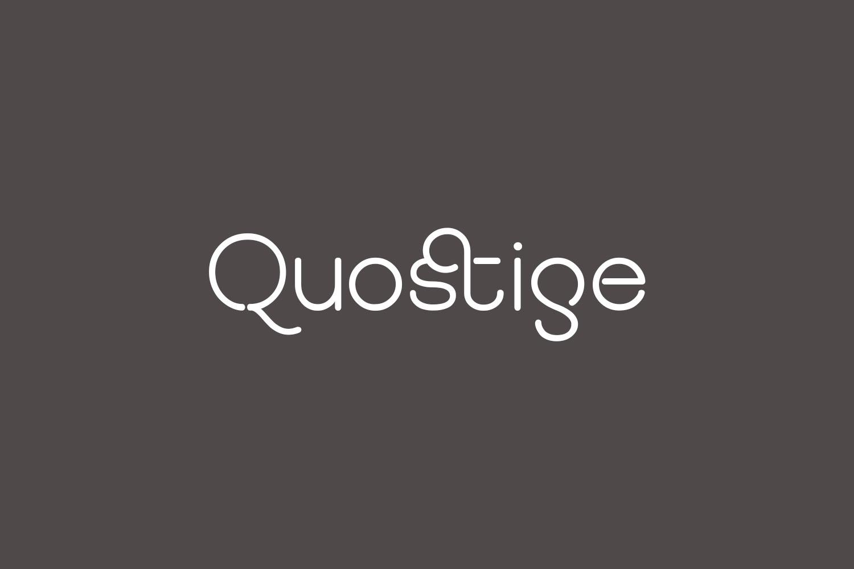 Quostige Free Font