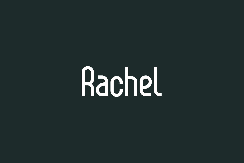 Rachel Free Font