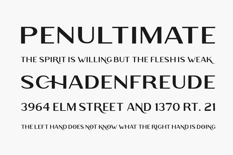 Rodano Free Font