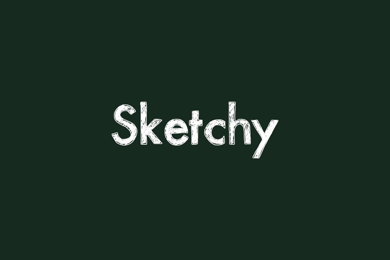 Sketchy Fre Font
