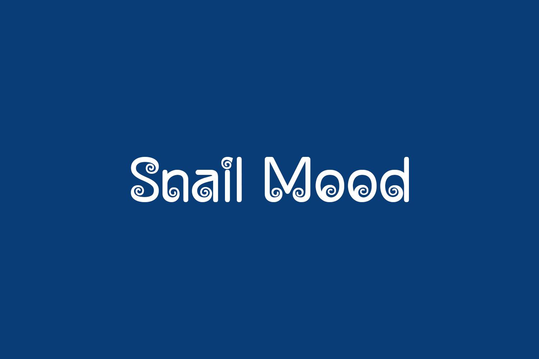 Snail Mood Free Font