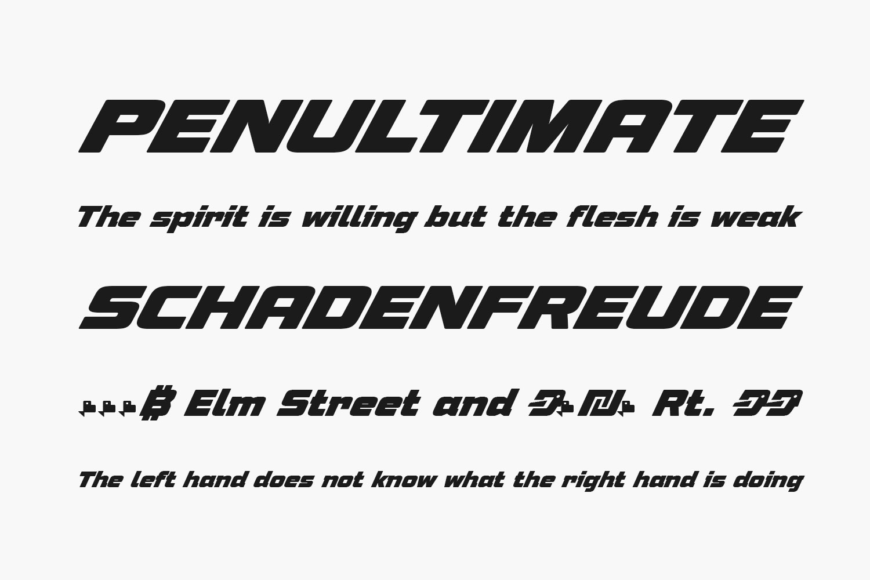 Speeday Free Font