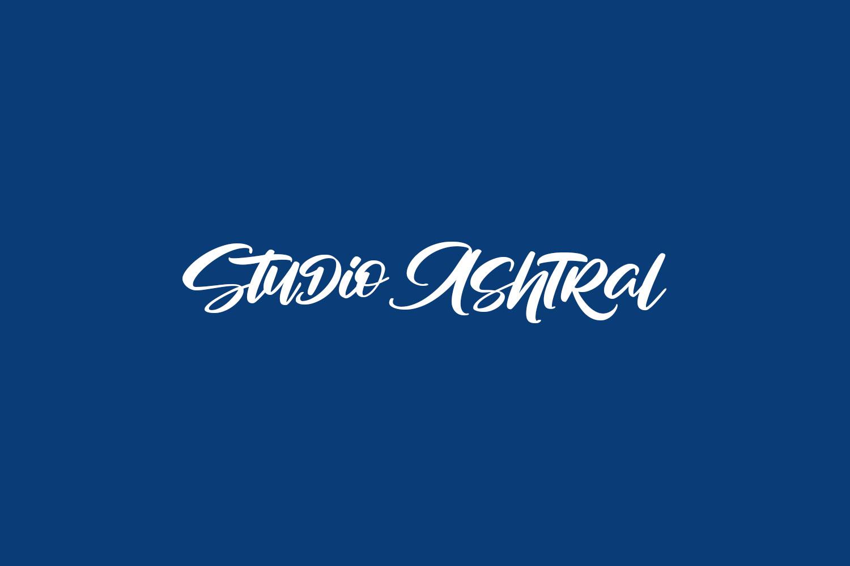 Studio Ashtral Free Font