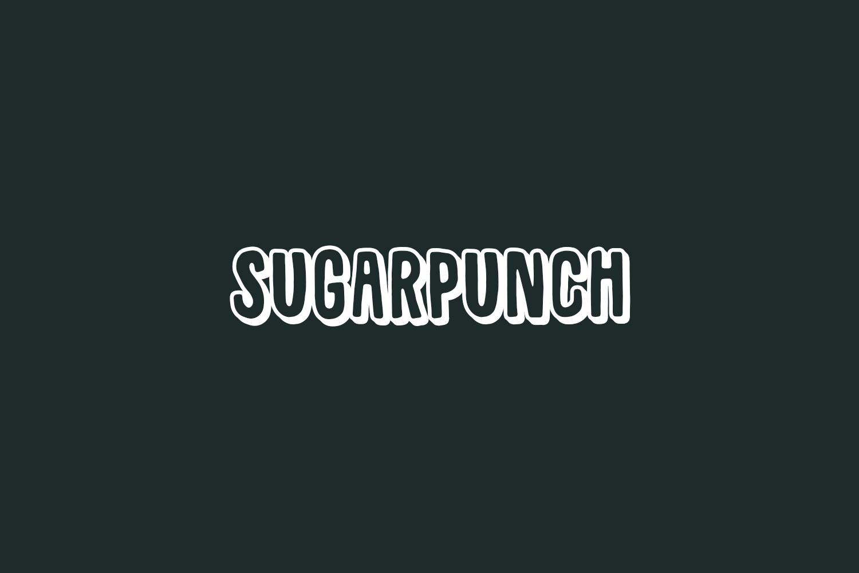 Sugarpunch Free Font