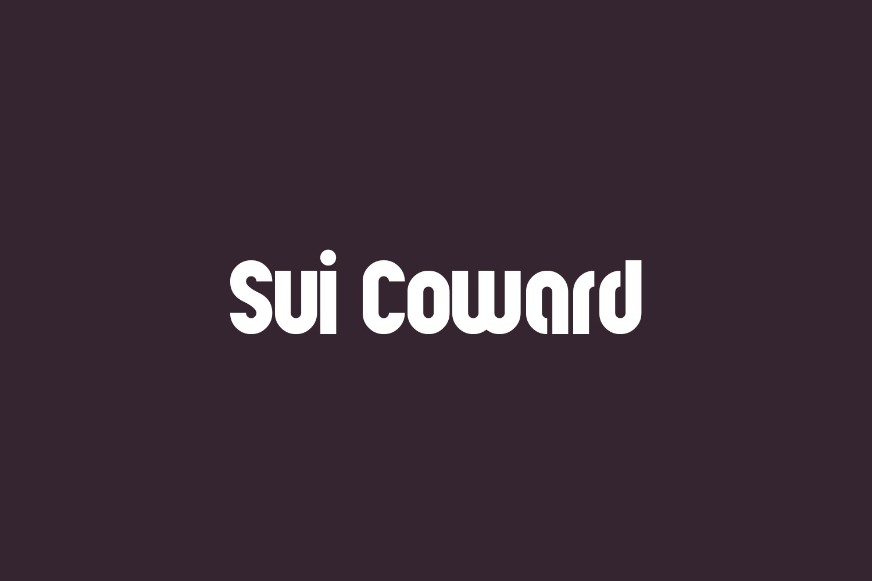 Sui Coward Free Font