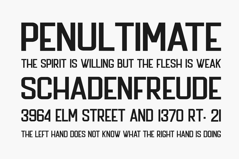 The Bredan Sans Free Font