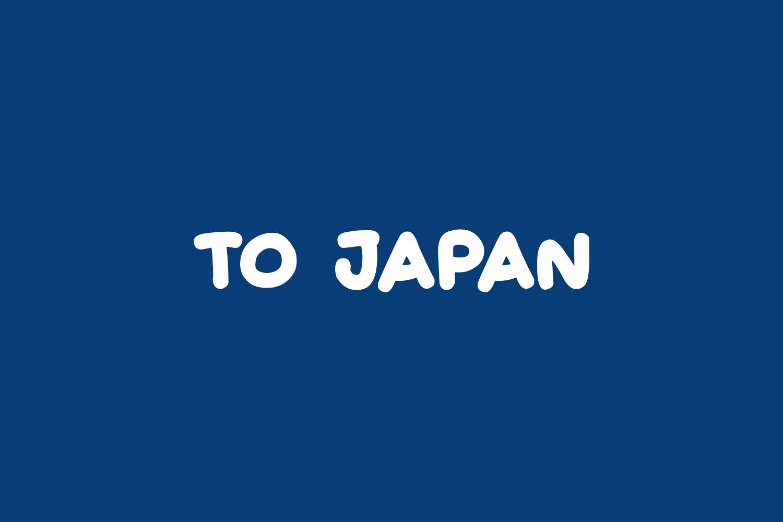 To Japan Free Font